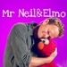 Mr. Neil and Elmo