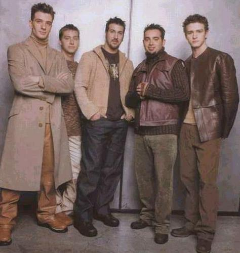 NSYNC wallpaper with a well dressed person and an outerwear called NSYNC