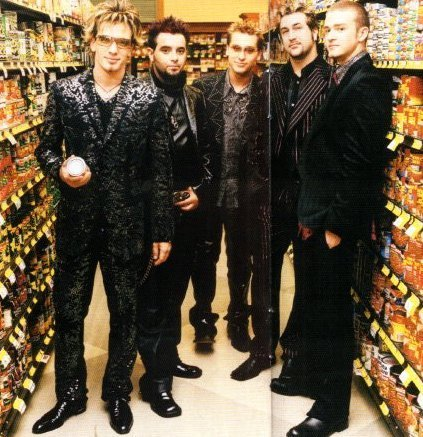 NSYNC wallpaper possibly with a business suit and a well dressed person called NSYNC
