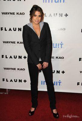 Nikki at Flaunt Magazine's 10th Anniversary