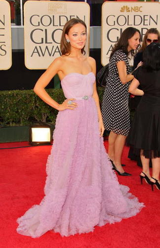 Olivia @ th 66th Annual Golden Globes (New)