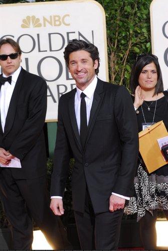 Patrick at 2009 Golden Globes