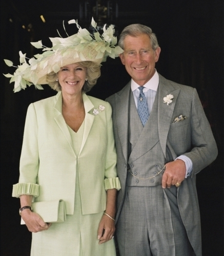 Kings and Queens wallpaper possibly with a business suit, a well dressed person, and a suit titled Prince of Wales and the Duchess of Cornwall