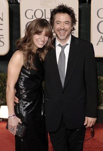 Robert Downey Jr. @ The 2009 Golden Globe Awards