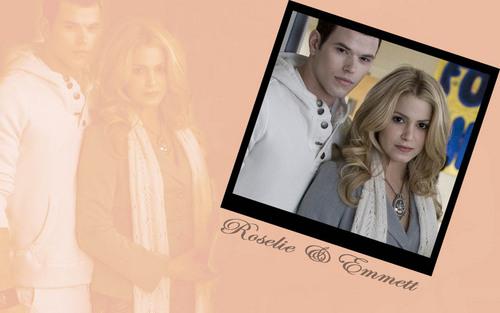 Rosalie & Emmett fond d'écran