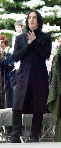 severus snape fondo de pantalla containing a business suit called Severus