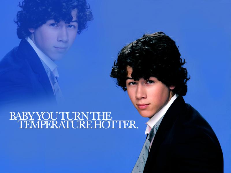 Sexy Nick Jonas karatasi za kupamba ukuta