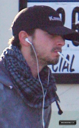 Shia LaBeouf wallpaper probably with a green berretto, beret entitled Shia