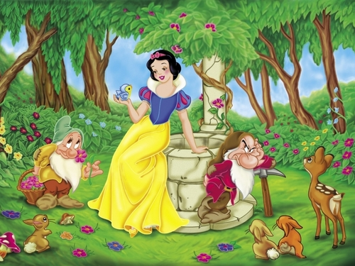 Disney Princess wolpeyper titled Snow White wolpeyper