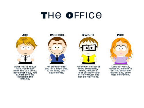 South Park Office - the-office Wallpaper