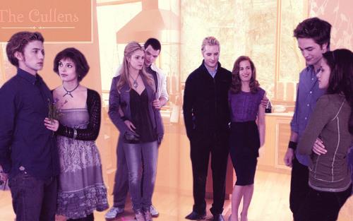 The Cullens kertas dinding
