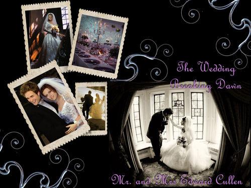 The wedding Breaking Dawn