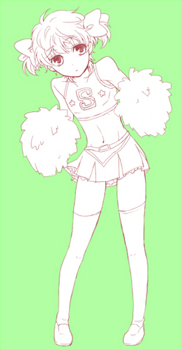 There now ther's a better Cheerleader picture of Suzaku