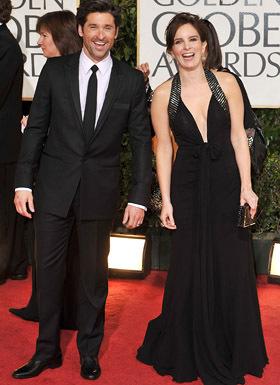 Tina Fey @ The 2009 Golden Globe Awards