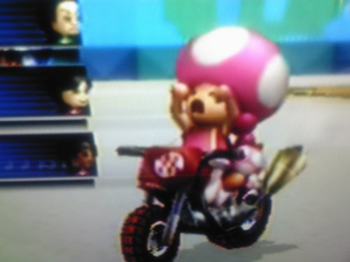Mario Kart 바탕화면 called Toadette