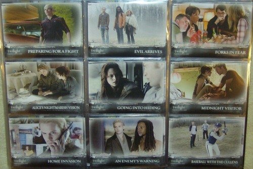 Twilight Trading Card Sheets
