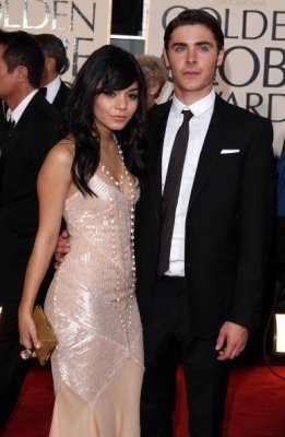 Vanessa @ 2009 Golden Globe Awards