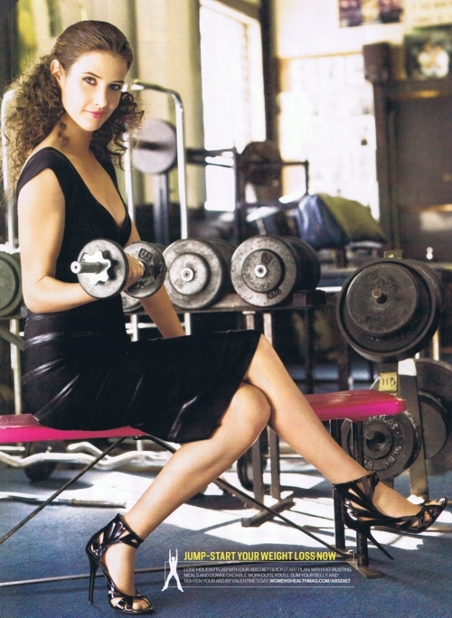 Cobie smulders women s health magazine