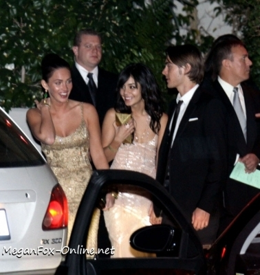 Zac & Megan @ 2009 Golden Globes After Party