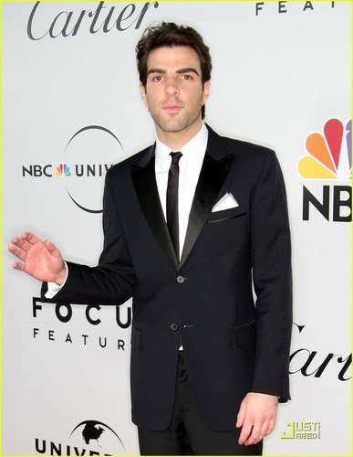 Zachary Quinto @ Golden Globes 2009