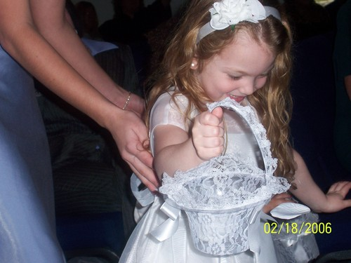alyssia at unkles wedding