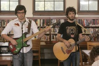 Flight of the Conchords wallpaper probably containing a guitarist called fotc