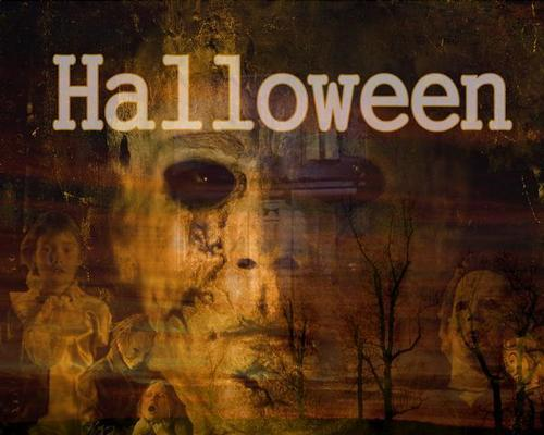 Horror legends wallpaper containing a sign called hl