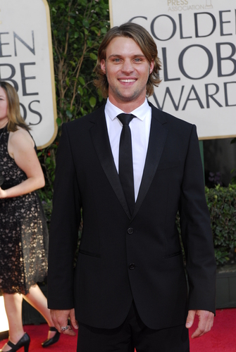 jesse spencer @66th annual golden globe awards