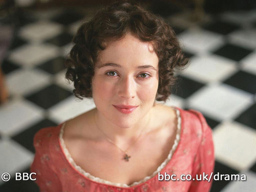 Elizabeth Bennet wallpaper possibly containing a chainlink fence and a portrait entitled lizzie_2