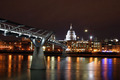 millenium bridge - london photo