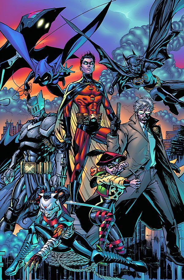 Art from Battle for the Cowl
