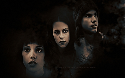 Bella, Alice & Jacob Wallpaper
