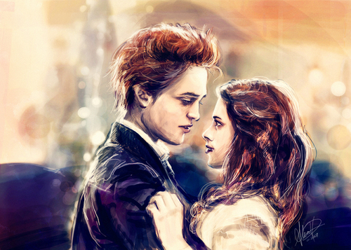 Bella/Edward Prom fan art