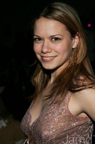 Bethany at the Olympus Fashion Week Fall 2005