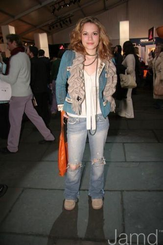 Bethany at the Olympus Fashion Week Fall 2005