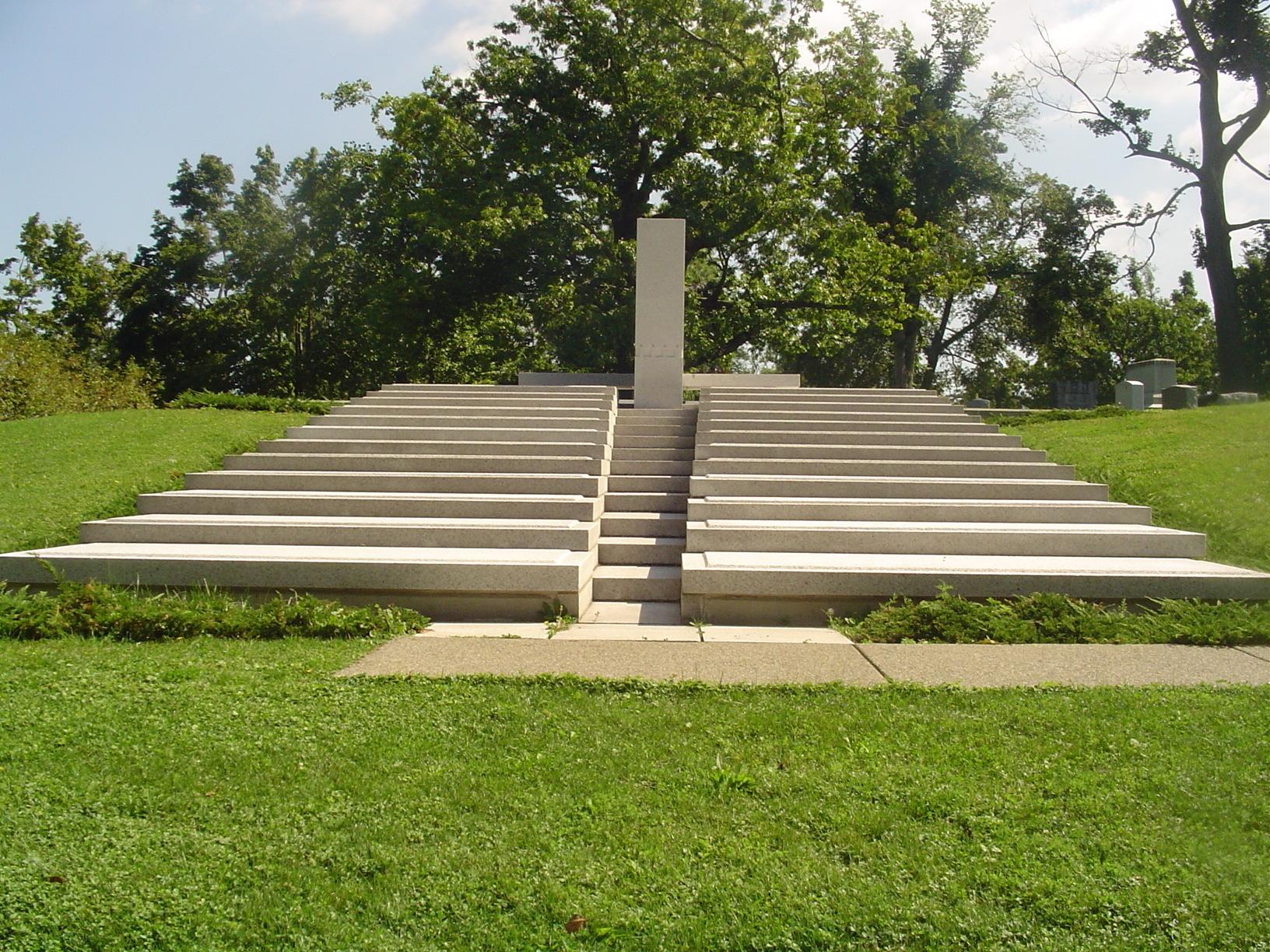 Blue Sky Mausoleum Cemeteries Amp Graveyards Photo
