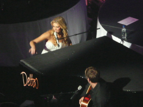 Brian at Delta Goodrem's 17th January concerto