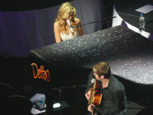 Brian at Delta Goodrem's 17th January concert