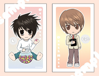 death note chibi light - photo #9
