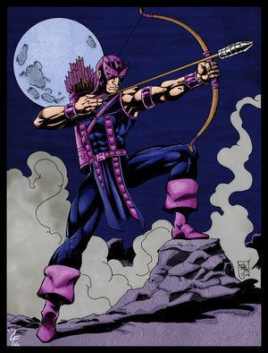 Hawkeye wallpaper containing anime called Clint Barton