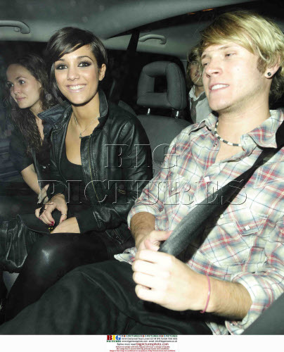Dougie Poynter and Frankie Sandford