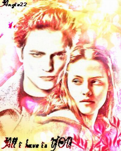 Edward &amp; Bella - twilight-series Fan Art