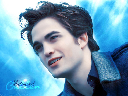 Twilight Series wallpaper with a portrait called Edward Cullen