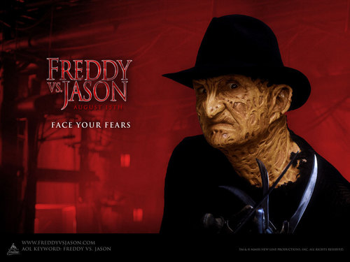 Horror legends wallpaper probably with a konser and a fedora entitled Freddy Krueger