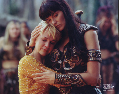 Gabrielle & Xena - xena-warrior-princess Photo