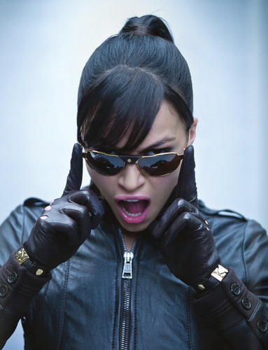 Michelle Rodriguez wallpaper probably containing sunglasses titled H Magazine Photoshoot