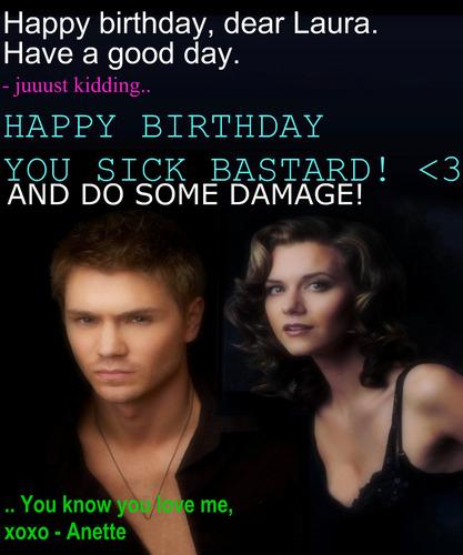 Happy Birthday Laura (Laurra)
