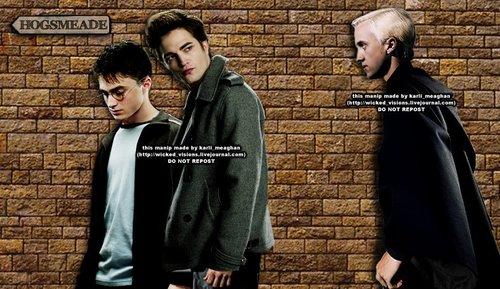 Harry/Cedric/Draco