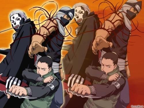Hidan kakuzu and Shikamaru