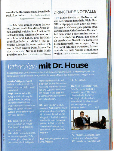 House (Reader's Digest Germany)